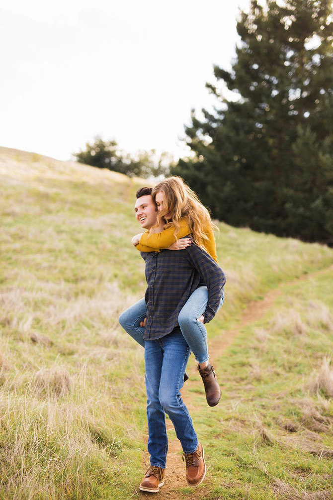 Tessa + Dominic Mount Tam Engagement Session | Kaitlynn Tucker Photography