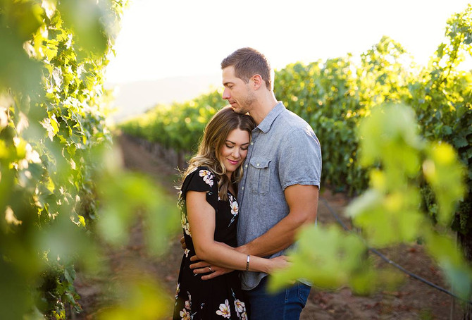 Kimber + Dan | Napa Couple's Session | Napa Photographer