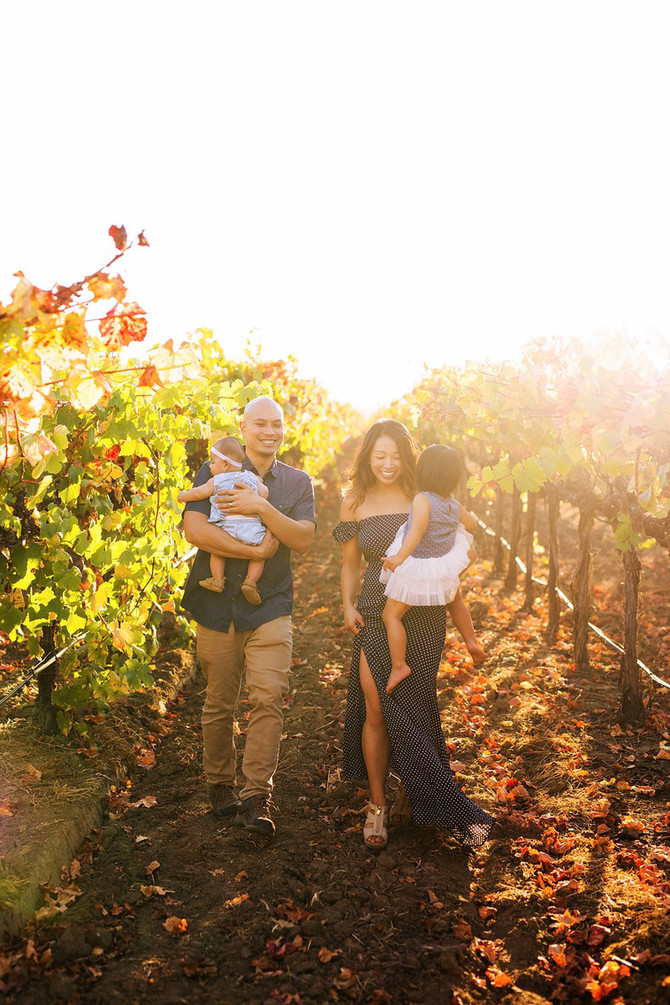 The Lo Family | Napa Family Photographer | Kaitlynn Tucker Photography