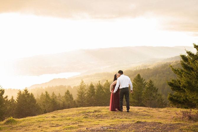 Mt. Tam Engagements | Crystal + Jacob | Kaitlynn Tucker Photography