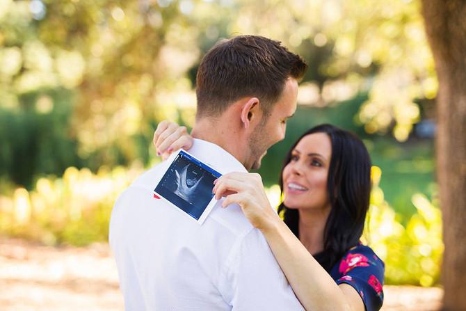 Kendra + Jerry Baby Announcement   Napa Family Photographer   Kaitlynn Tucker Photography