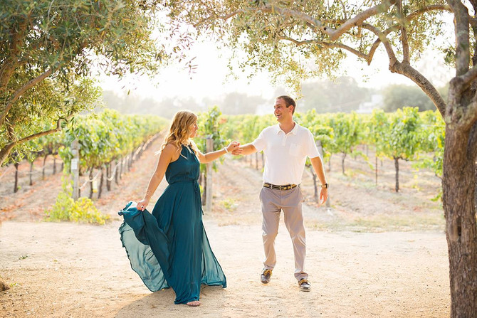Summer Vineyard Anniversary | Liane + Joe | Kaitlynn Tucker Photography