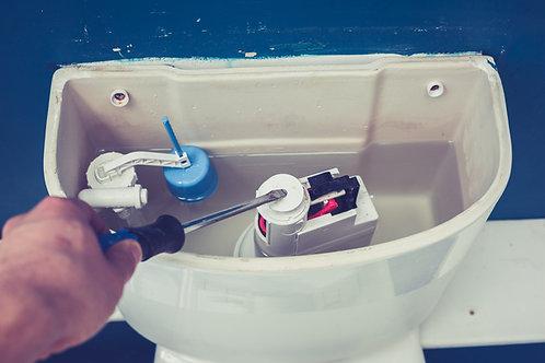 Cambio de kit para inodoro