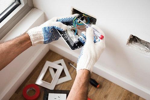 Instalación de Interruptores, tomacorrientes
