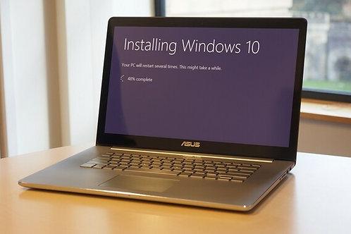 Laptops - Reinstalación de SO y aplicativos
