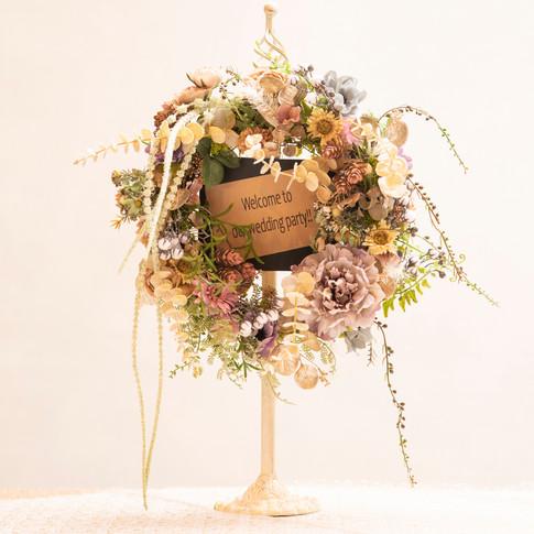 ★artificial flower wreath★