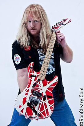 Neal EVH Red Guitar.jpg