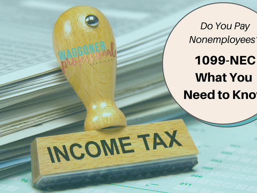 Do You Pay Non Employee Compensation? Form 1099-NEC: What you need to know.