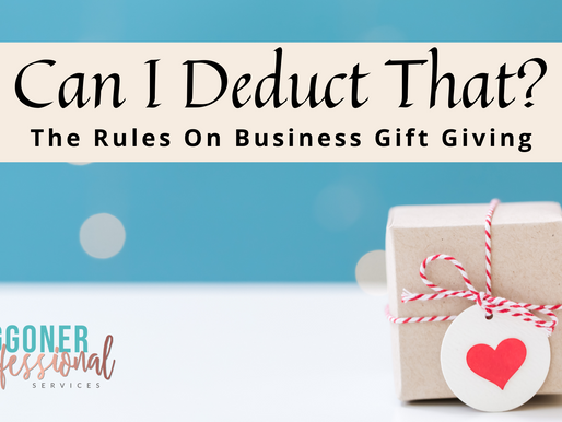 Can I Deduct That? The Rules on Business Gift Giving