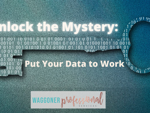 Unlock the Mystery: Put Your Data to Work