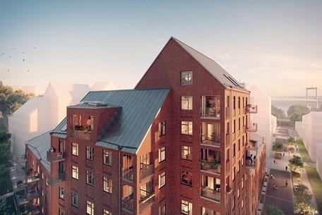 Läs mer på   https://www.hsb.se/goteborg/sok-boende/projekt/?projektlan=vastra-gotaland&projektkommun=goteborg&projektnamn=sannaparken  Bild: Industriromantik