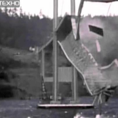 Закон резонанса. разрушение моста_mpeg2video.wmv