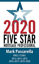 mark Pascarella 2020 five star mortgage professional