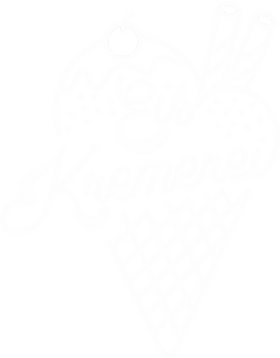 EisKremerei Logo white Schriftzug+Eis.pn