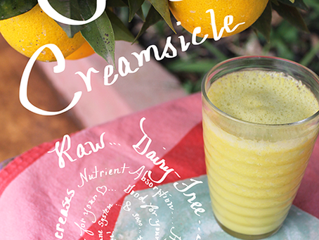 Tuesday Tip: Orange Creamsicle (that's actually good for you)