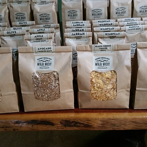 Large sawdust bags