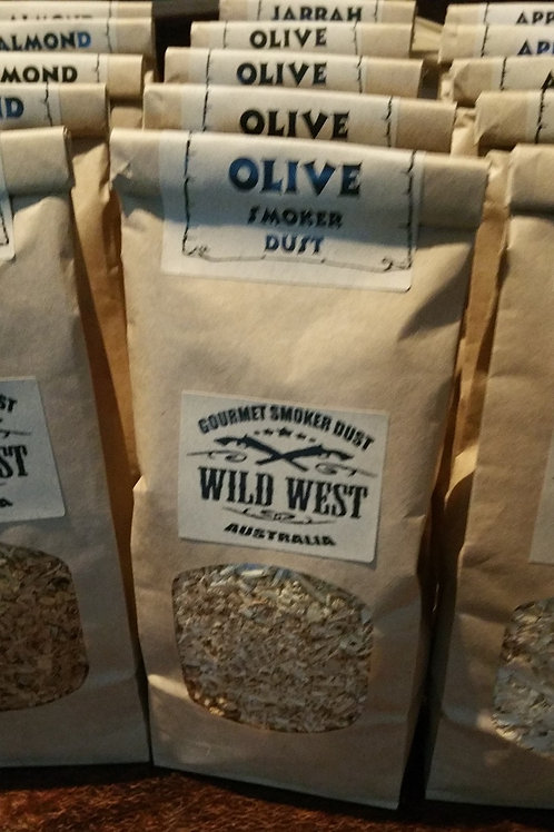 small bag olive smoker dust