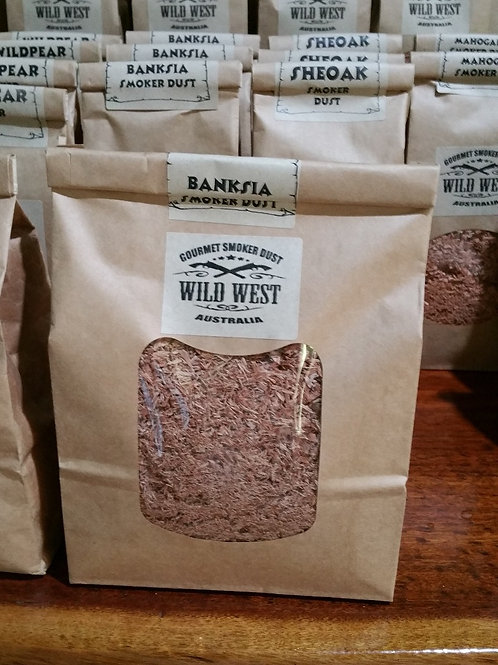 Large bags banksia smoker dust