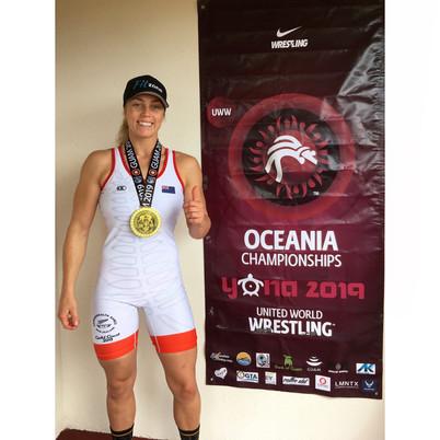 Oceania Wrestling Champ 2019