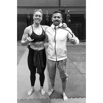 With CKB Wrestling Coach