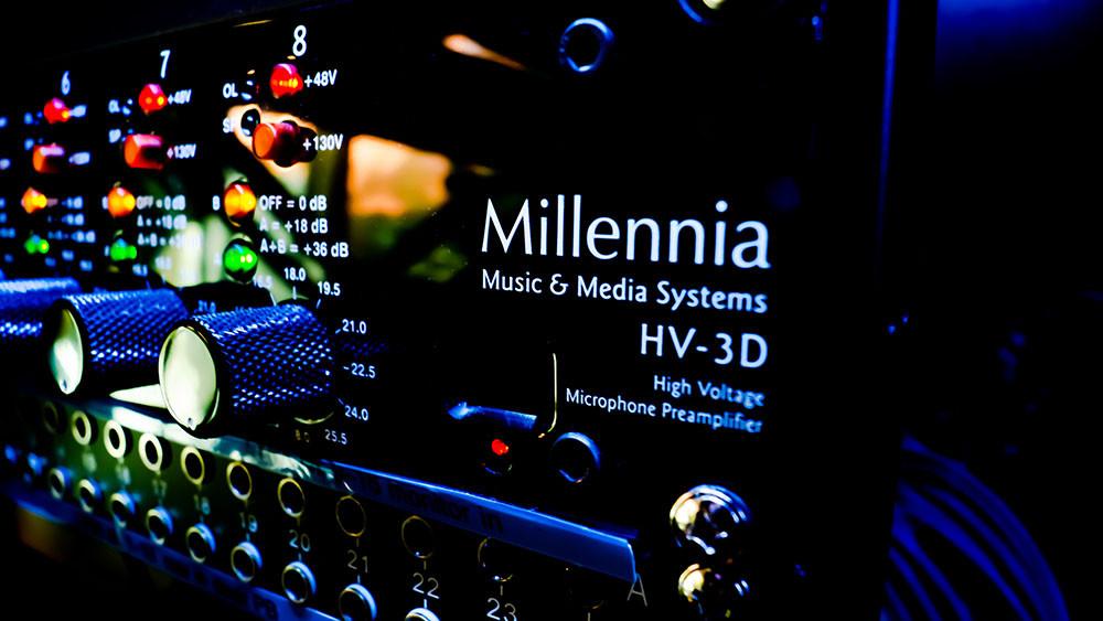 Millennia Media HV-3D - 8 x mic preamplifier