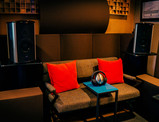 mixing and control room - client listening area, ATC surround monitors