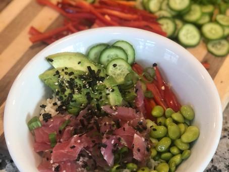 Ahi Tuna Bowls