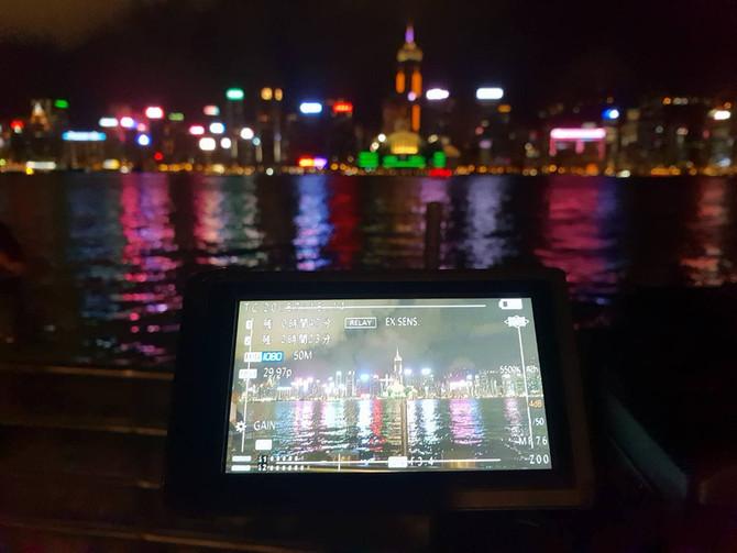 HTB北海道テレビ『鳴らす者たち』香港外景協拍