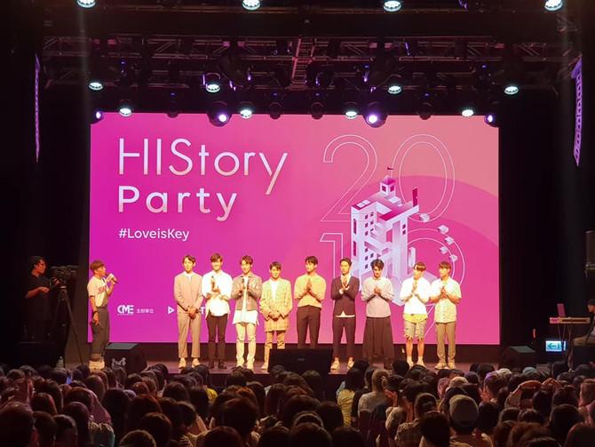 LINE TV 網路劇『HISTORY 圈套』 活動拍攝