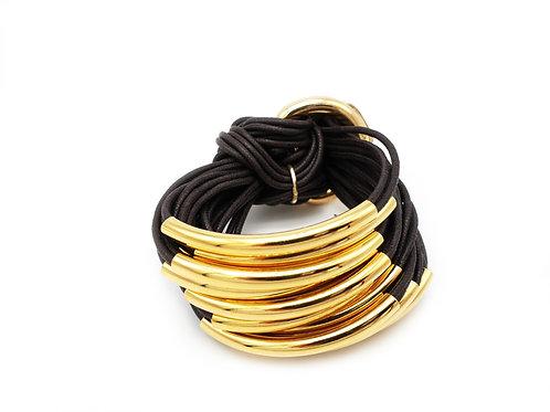Black Gold 16 Bar Bracelet