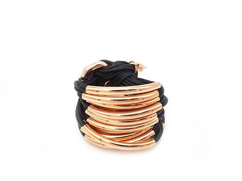 Black Rose 16 Bar Bracelet
