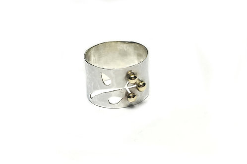 Cut out Flower Ring