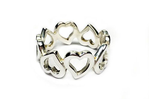 Multi Heart Ring