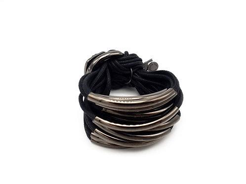 Black Gun 16 Bar Bracelet