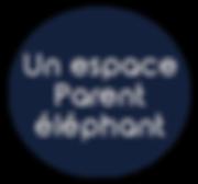 Espace Parent éléphant Montessori Berlioz