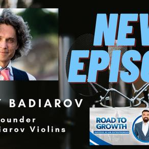 Dmitry Badiarov -  Founder of Badiarov Violins