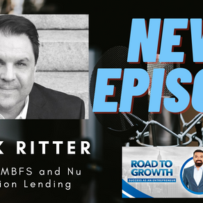 Mark Ritter - CEO of MBFS and Nu Direction Lending #loan #Credit