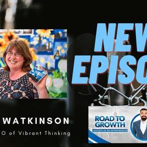 Lorna Watkinson - Founder & CEO of  Vibrant Thinking #virtual