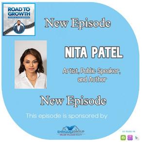Nita Patel  - Artist, Public Speaker, and Author