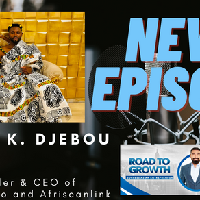 Happy Koffi Djebou - Founder & Ceo of Behappylimo and Afriscanlink #Ghana #Africa