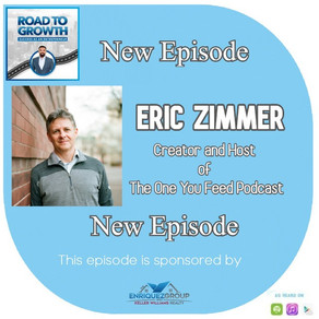 Eric Zimmer - Creator and Host  of  The One You Feed Podcast