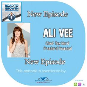 Ali Vee - Chief Tax Nerd - Freebird Financial