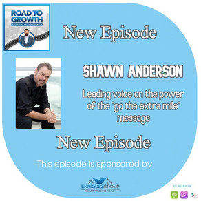 """Shawn Anderson - Leading voice on the power of the """"go the extra mile"""" message"""
