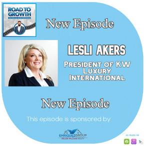 Lesli Akers - President of KW Luxury International