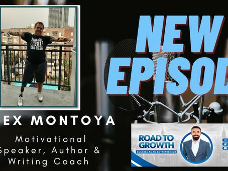 Alex Montoya  -  Motivational Speaker, Author & Writing Coach