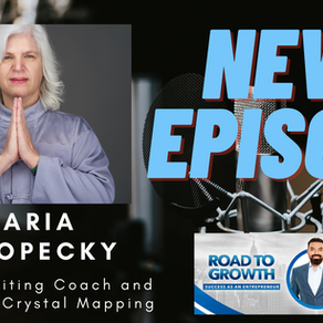 Maria Koropecky - Author, Writing Coach and Creator of Crystal Mapping #podcast