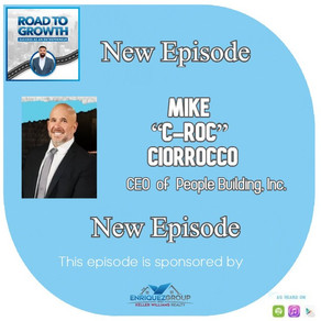 "Mike ""C-Roc"" Ciorrocco - CEO  of  People Building, Inc."