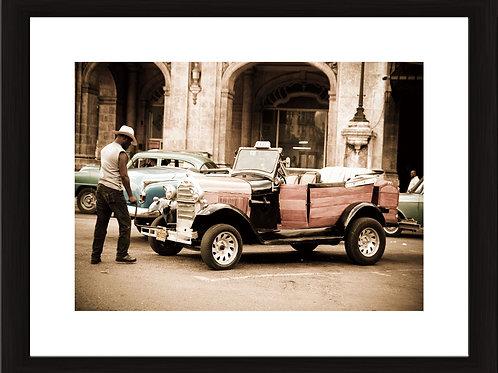 Havana, black wooden frame