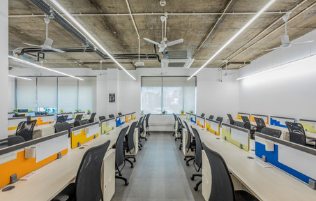 91springboard Gurgaon - Coworking Space Interiors executed by Genesis Infra
