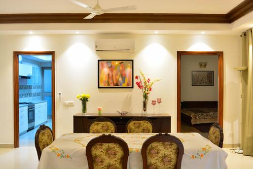 Jaypee Wishtown Noida: Residence Interiors designed and built by Genesis Infra